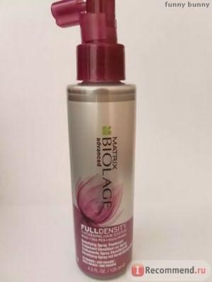Уплотняющий спрей для тонких волос MATRIX Biolage Full Density фото
