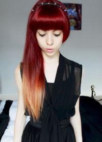 стрижка лисий хвост на длинные волосы 9