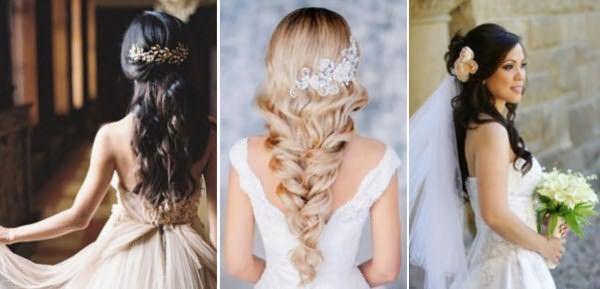 Свадебные укладки для длинных волос