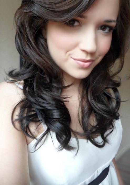 темно-русые волосы