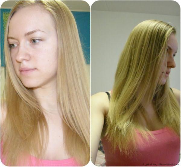 Волосы до. Концы не паленые не сеченые, просто неудачная лесенка((