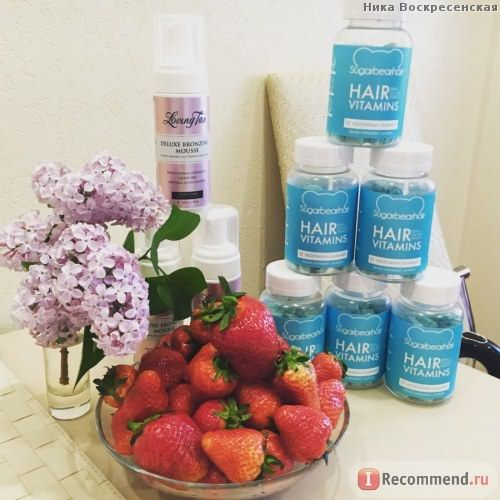 Витамины для волос Sugarbearhair Hair Vitamins фото