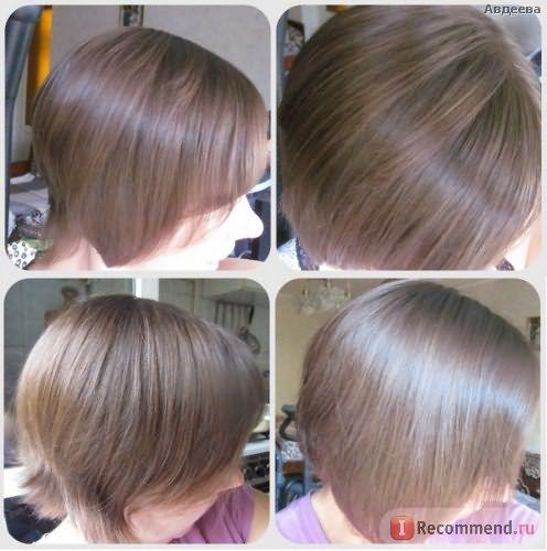Волосы крепкие и на вид здоровые