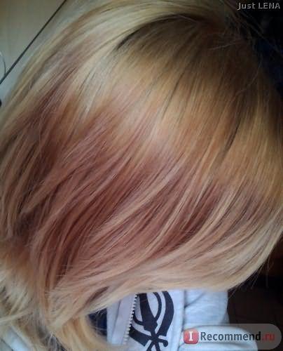 После...так и не смогла впоймать однородность,волосы кажутся тут темнее,но это не так