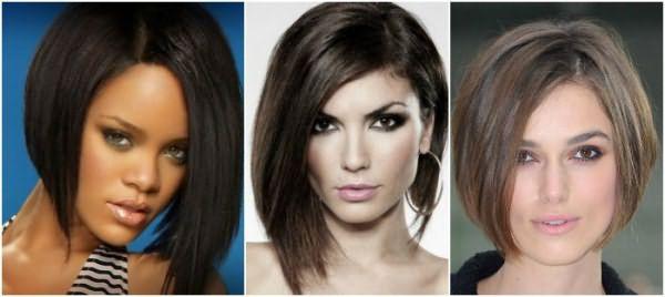 Красивая укладка: удлиненное каре на средние волосы