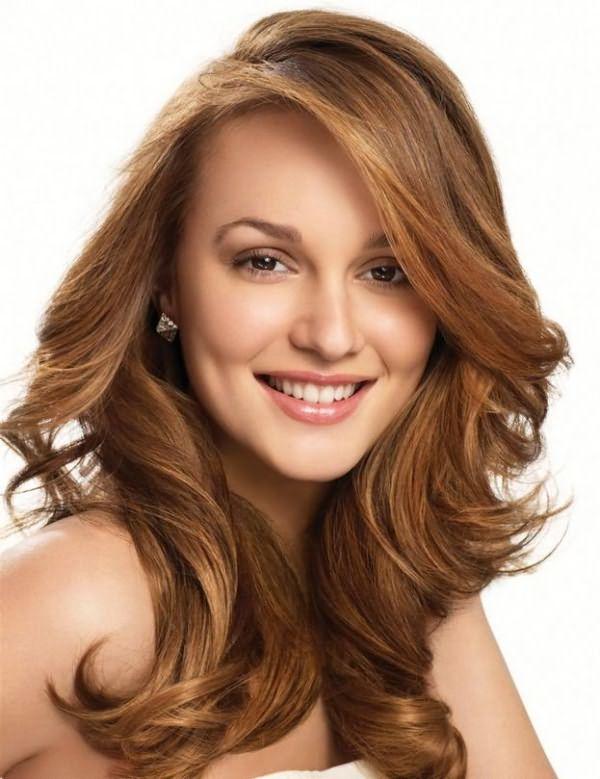 красивая укладка волос средней длины 7