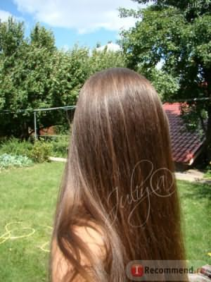 Мои волосы после масла Био Бринградж (bio-bhringraj)