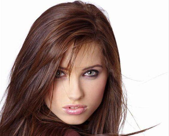 цвет волос холодного оттенка