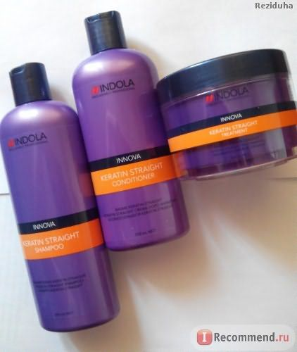 Кондиционер для волос Indola Keratin straight conditioner фото