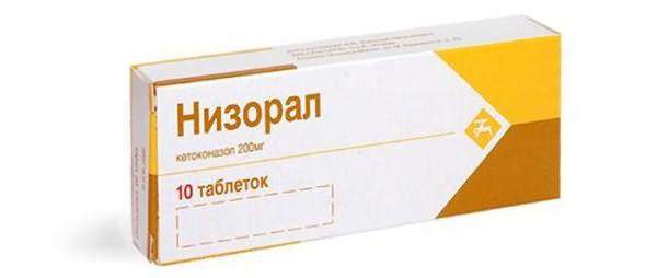 Препарат Низорал от перхоти
