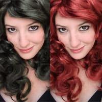 изменить цвет волос в фотошопе