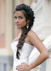 Французские косы на длинные волосы 3