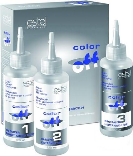 Estel Color Off– эмульсия для удаления краски