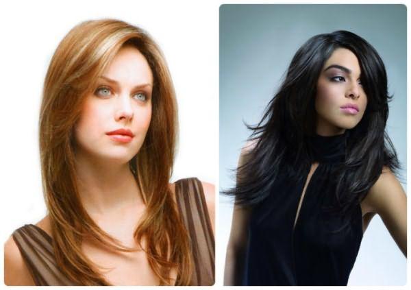 Многоступенчатые стрижки для тонких волос