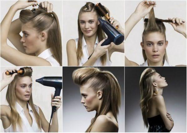 самостоятельные причёски для длинных волос с пошаговым фото