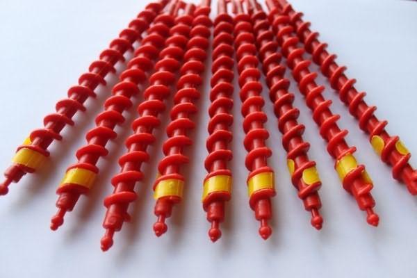 Спиральки пластиковые