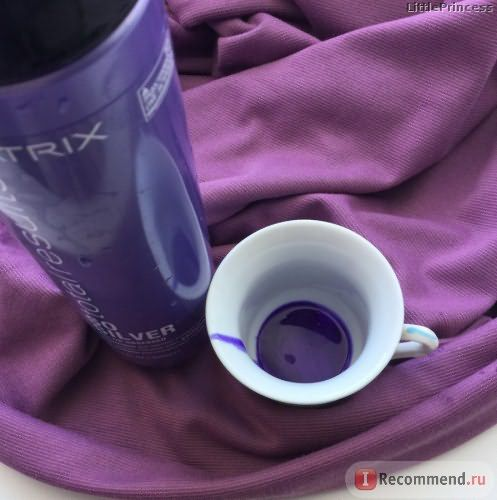 Оттеночный шампунь MATRIX Total Results Color Obsessed So Silver фото