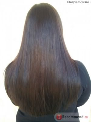 Волосы после покраски салермом