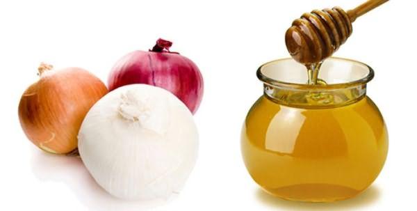 Луково-медовая смесь для волос