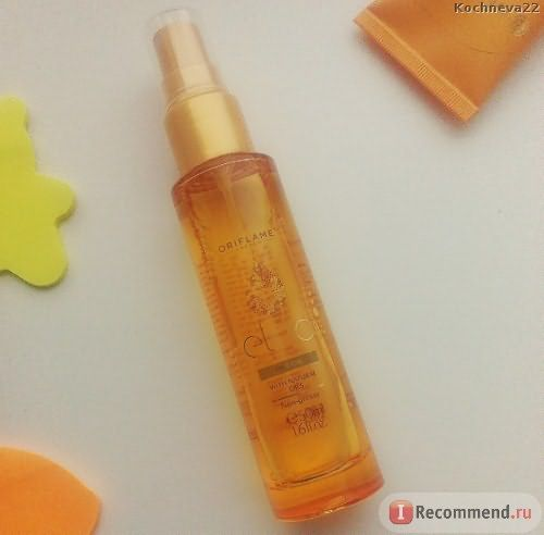 Oriflame Восстанавливающее масло для волос Eleo фото
