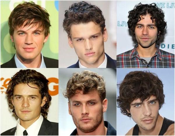 Аккуратные стрижки на мужских головах.