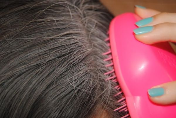 Прочесывание корней волос