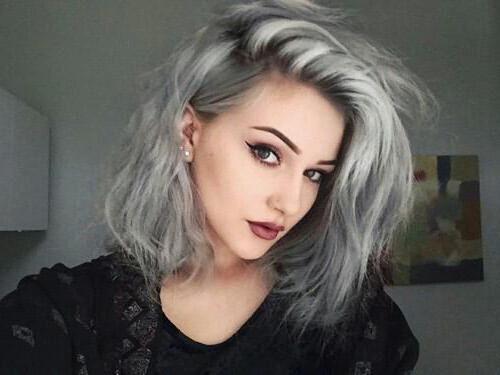 пепельная краска для волос без аммиака
