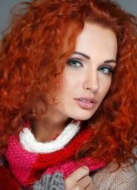 рыжие волосы зеленые глаза 7