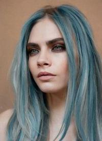 синие пряди 2
