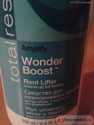 Спрей для волос MATRIX Amplify Wonder Boost Root Lifter для прикорневого объема фото