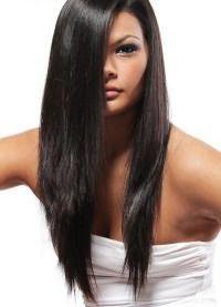 стрижка лисий хвост на длинные волосы 7