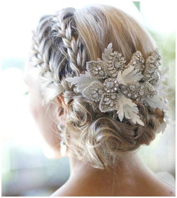 свадебные прически на волосы каре