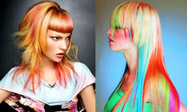 Нестандартное окрашивание волос - 1