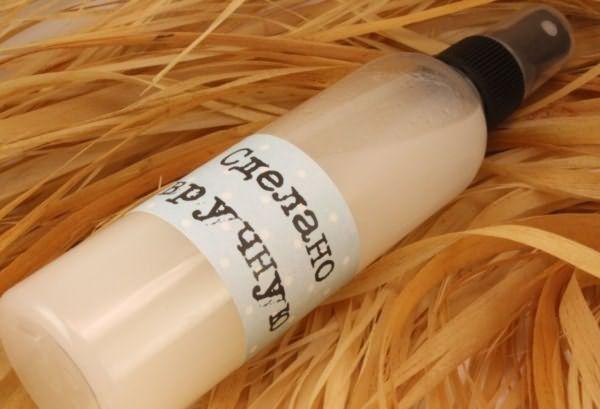 Самодельный спрей – отличная альтернатива магазинным продуктам