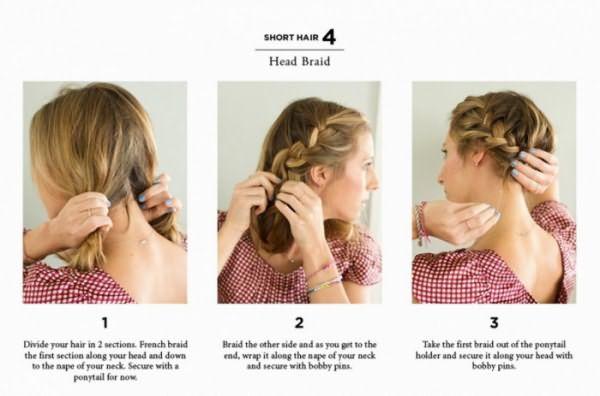 Как создать узел из кос