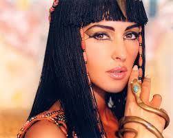 Египтянки предпочитали темные цвета