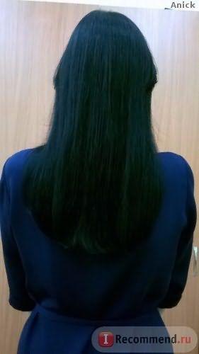 Волосы до начала приема Пантовигара