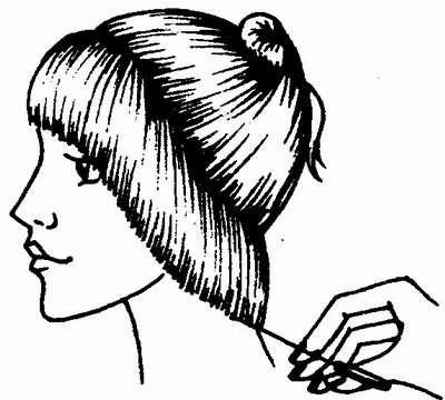 определение длины волос