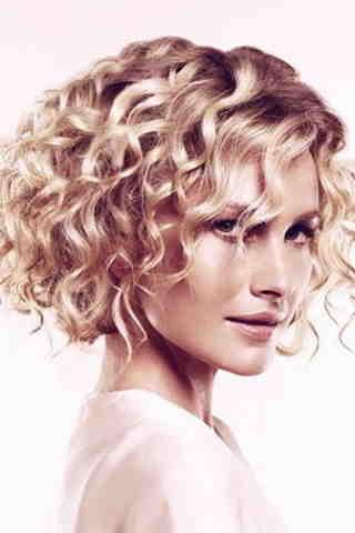 Интересный образ для волнистых волос