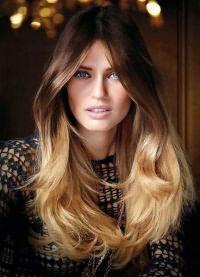 окрашивание балаяж на русые волосы 4