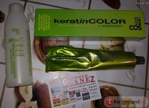 Крем-краска для волос BBCOS Keratin Color фото