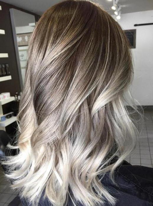 покраска волос в темный цвет