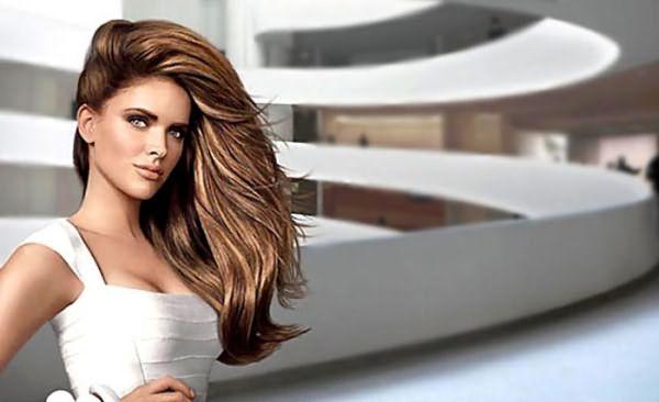Техника «3Д окрашивание волос»