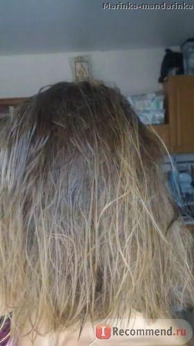 Волосы сразу после шампуня