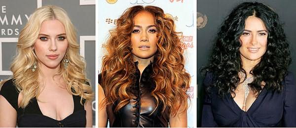 Крутизна завитка зависит от типа волос