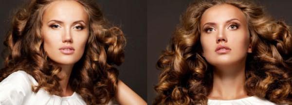 Здоровые вьющиеся волосы