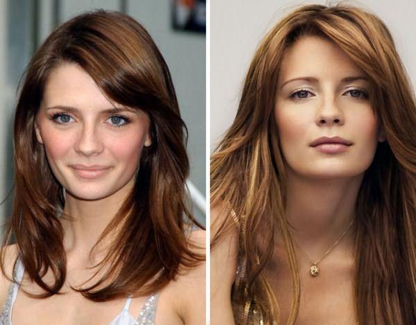 Так как покрасить волосы из темного в русый можно только через процедуру осветления, возможно, вам по душе придется метод двуцветного окрашивания