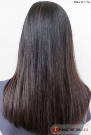 волосы с использование маски прелесть