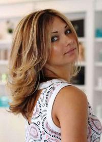 модное окрашивание 2016 на средние волосы 20