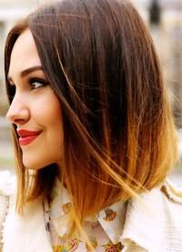 модное окрашивание 2016 на средние волосы 3